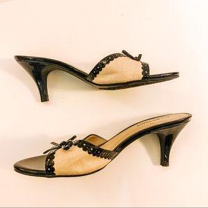 Ellen Tracy kitten heels - SZ 9